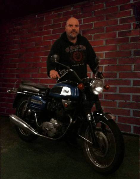 Me with my '69 BSA Rocket 3